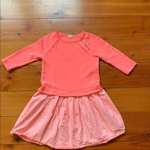 Girls J Crew Mixy Sweatshirt Dress